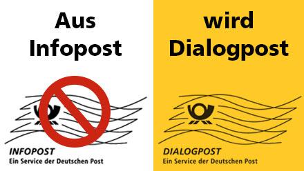 Infopost wird zu Dialogpost